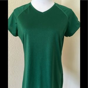 Adidas Climalite athletic top shirt short sleeves